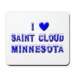 I Love St. Cloud Winter Mousepad
