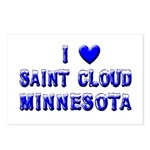 I Love St. Cloud Winter Postcards (Package of 8)