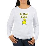 Saint Cloud Chick Women's Long Sleeve T-Shirt