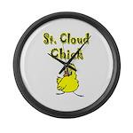 Saint Cloud Chick Large Wall Clock