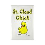 Saint Cloud Chick Rectangle Magnet (10 pack)