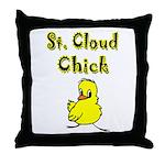 Saint Cloud Chick Throw Pillow