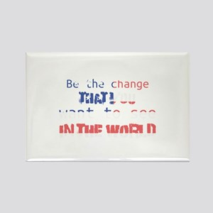 Be the change that you want to see in the Magnets