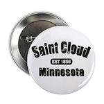"""Saint Cloud Established 1856 2.25"""" Button"""