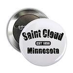 """Saint Cloud Established 1856 2.25"""" Button (10"""