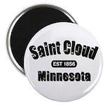 "Saint Cloud Established 1856 2.25"" Magnet (10"