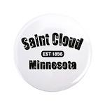 """Saint Cloud Established 1856 3.5"""" Button (100"""