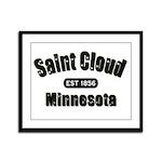 Saint Cloud Established 1856 Framed Panel Print