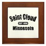 Saint Cloud Established 1856 Framed Tile