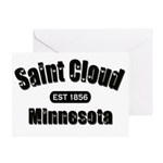 Saint Cloud Established 1856 Greeting Card