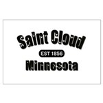 Saint Cloud Established 1856 Large Poster