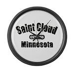Saint Cloud Established 1856 Large Wall Clock