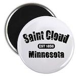 Saint Cloud Established 1856 Magnet