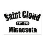 Saint Cloud Established 1856 Mini Poster Print