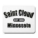 Saint Cloud Established 1856 Mousepad