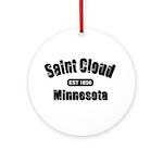 Saint Cloud Established 1856 Ornament (Round)