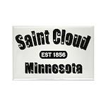 Saint Cloud Established 1856 Rectangle Magnet (100