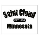 Saint Cloud Established 1856 Small Poster