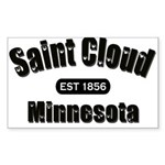 Saint Cloud Established 1856 Rectangle Sticker 10