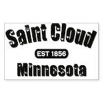 Saint Cloud Established 1856 Rectangle Sticker