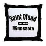 Saint Cloud Established 1856 Throw Pillow