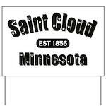 Saint Cloud Established 1856 Yard Sign