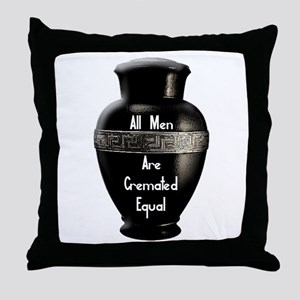 Cremated Throw Pillow