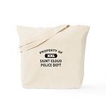 Proprty of Saint Cloud Police Dept Tote Bag