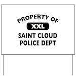 Proprty of Saint Cloud Police Dept Yard Sign