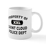 Property of Saint Cloud Police Dept Mug