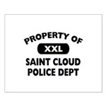 Property of Saint Cloud Police Dept Small Poster