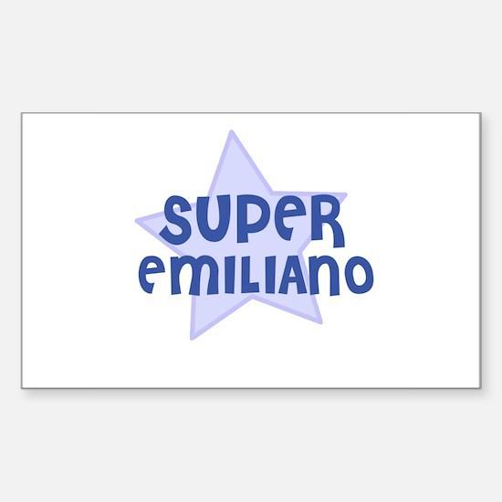 Super Emiliano Rectangle Decal