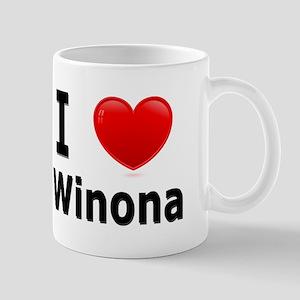 I Love Winona Mug