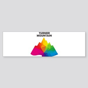 Turner Mountain - Libby - Montana Bumper Sticker