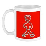 Inline Skater Skating Mug / Cup