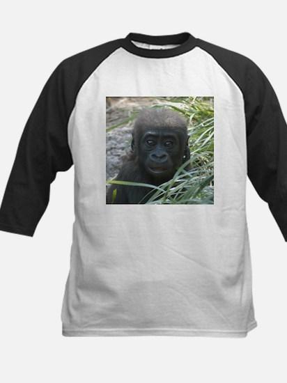 Baby Gorilla Kids Baseball Jersey