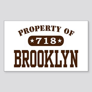 Brooklyn Rectangle Sticker