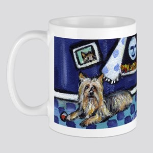 SILKY Terrier art items Mug