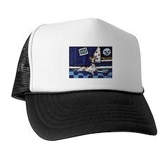 IBIZAN HOUND art Trucker Hat