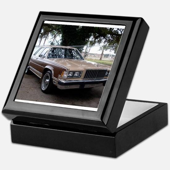 Mercury Country Squire Keepsake Box