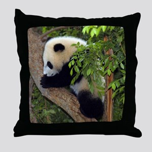 Giant Panda Baby 2 Throw Pillow