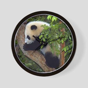 Giant Panda Baby 2 Wall Clock