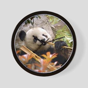 Giant Panda 7 Wall Clock