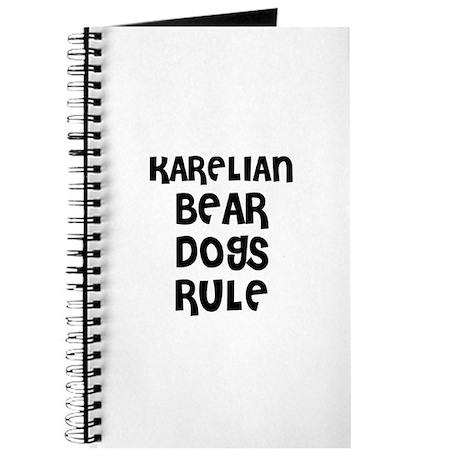 KARELIAN BEAR DOGS RULE Journal