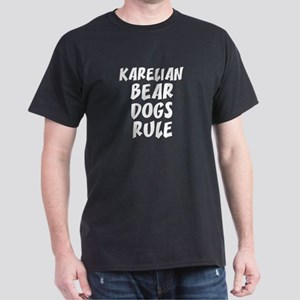 KARELIAN BEAR DOGS RULE Black T-Shirt