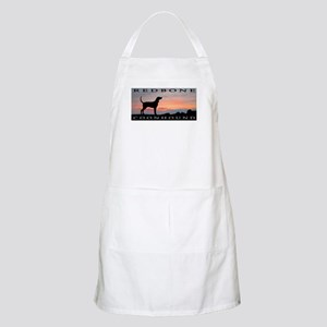 Redbone Coonhound Sunset Apron