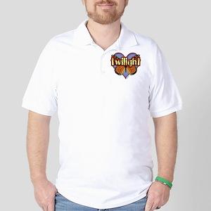 Twilight Magic Monarch Butterfly Golf Shirt