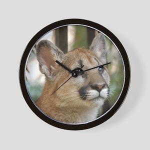 Cougar Cub 5 Wall Clock