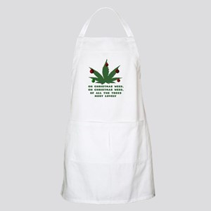 Oh Christmas Weed Apron