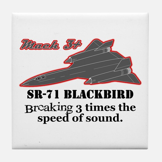 SR-71 Blackbird Tile Coaster